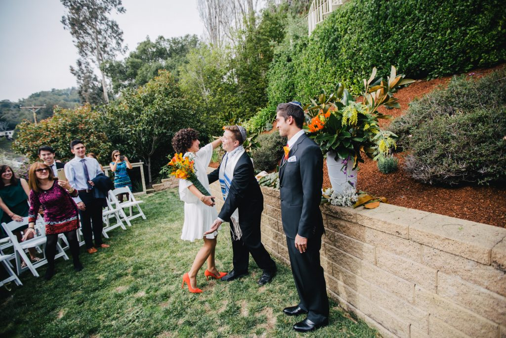 Backyard Jewish Wedding California | IQPhoto Studio 9