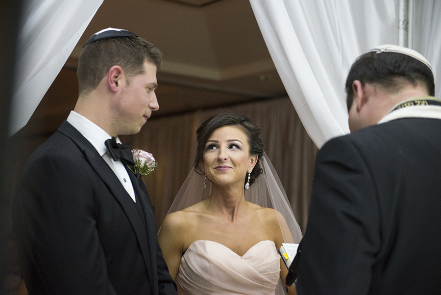 Elegant Jewish Winter Wedding | Kathleen Hertel Photography 13