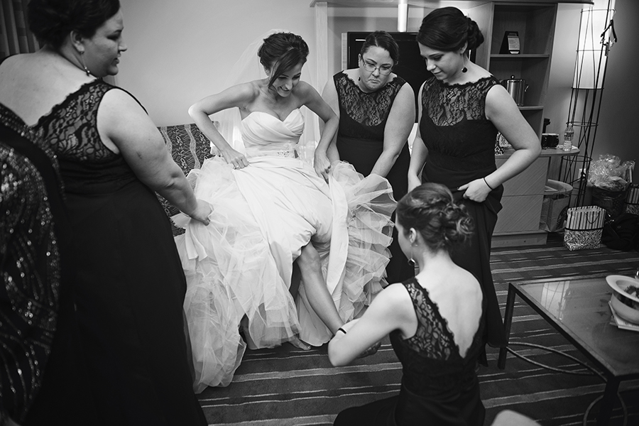 Elegant Jewish Winter Wedding | Kathleen Hertel Photography 8