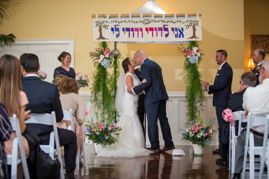 Garden Interfaith Jewish Wedding | Palmetto Duo Photography 3
