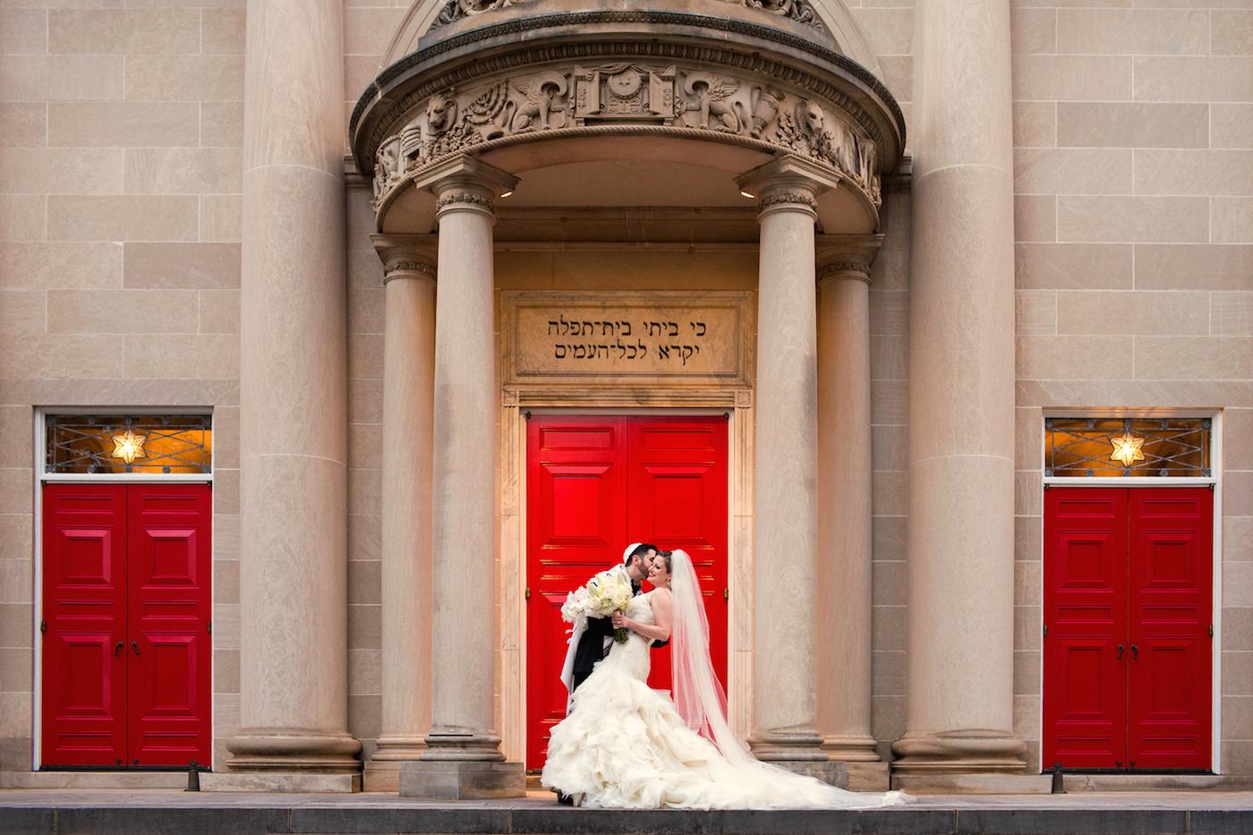 Glamorous Atlanta Jewish Wedding at The Temple | The Big Fat Jewish ...