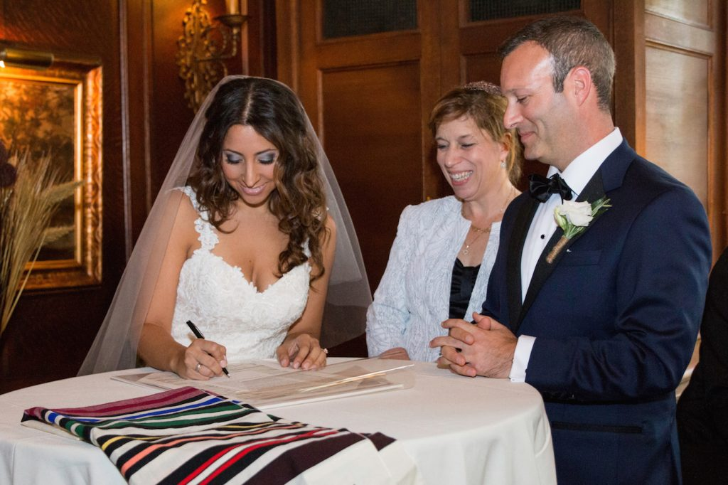 Green Glam Jewish Wedding | Whitehead Photography 24