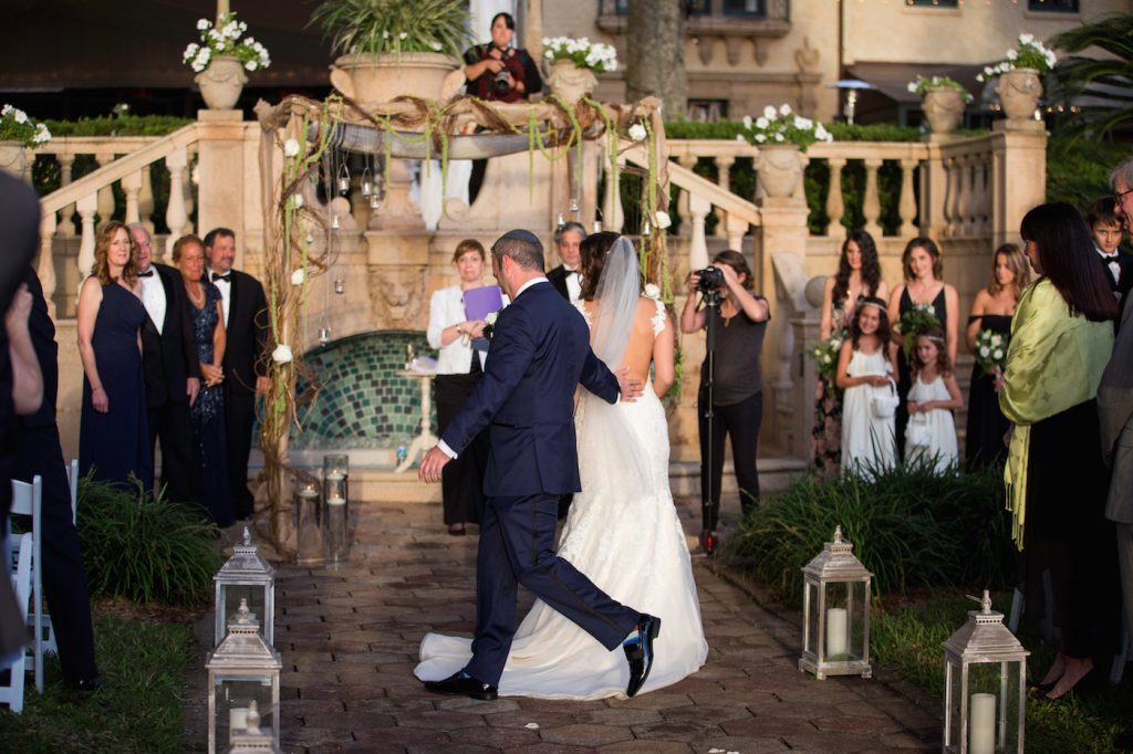 Green Glam Jewish Wedding | Whitehead Photography 40