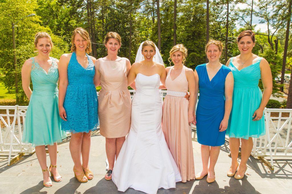 Turquoise Blush NC Jewish Wedding | AOJO Photography 10