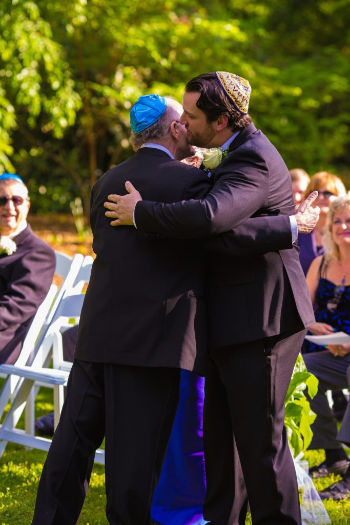 Turquoise Blush NC Jewish Wedding | AOJO Photography 12