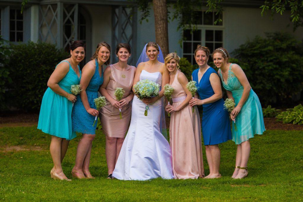 Turquoise Blush NC Jewish Wedding | AOJO Photography 14