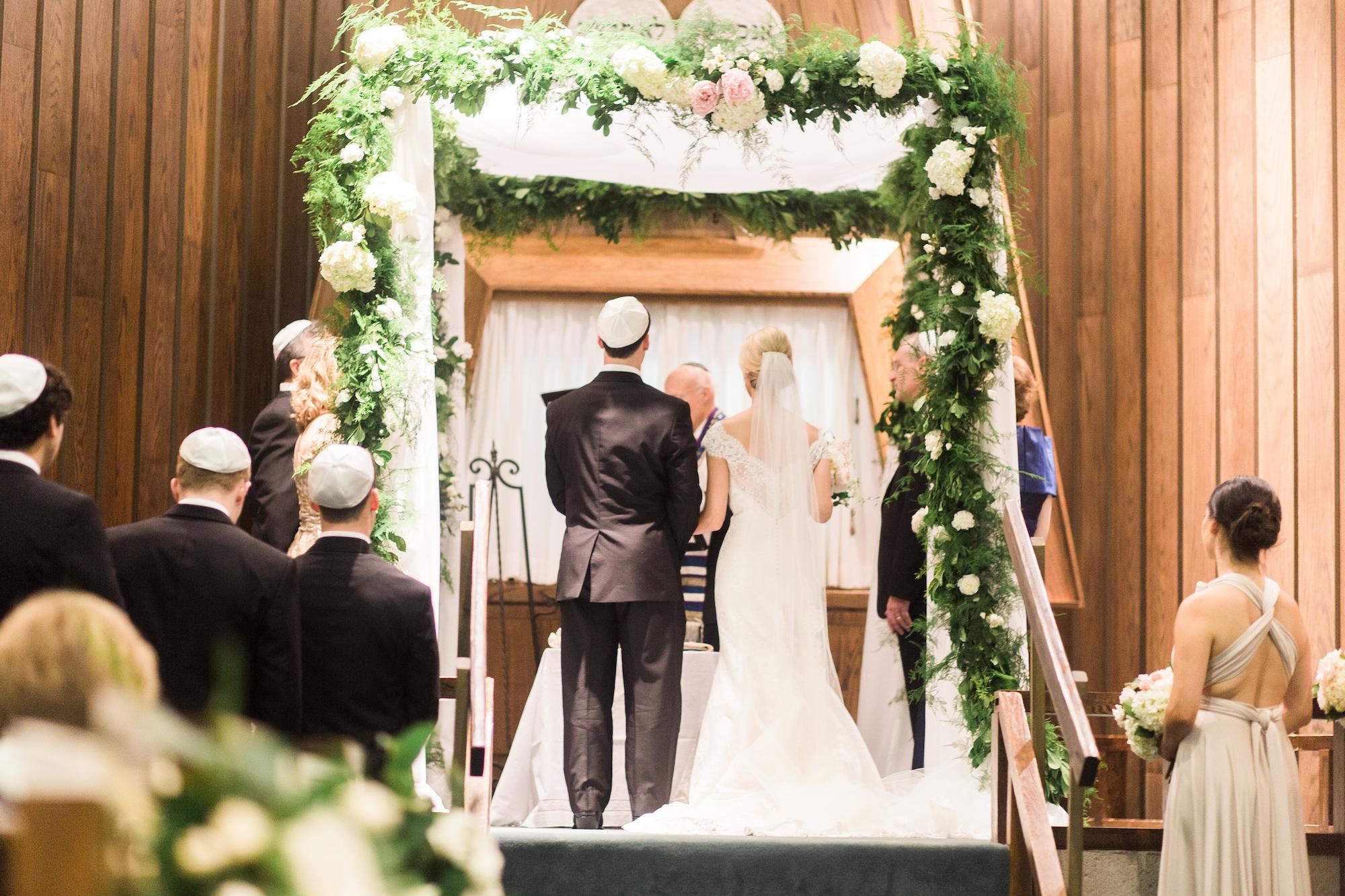 Blush Pink Modern Jewish Wedding