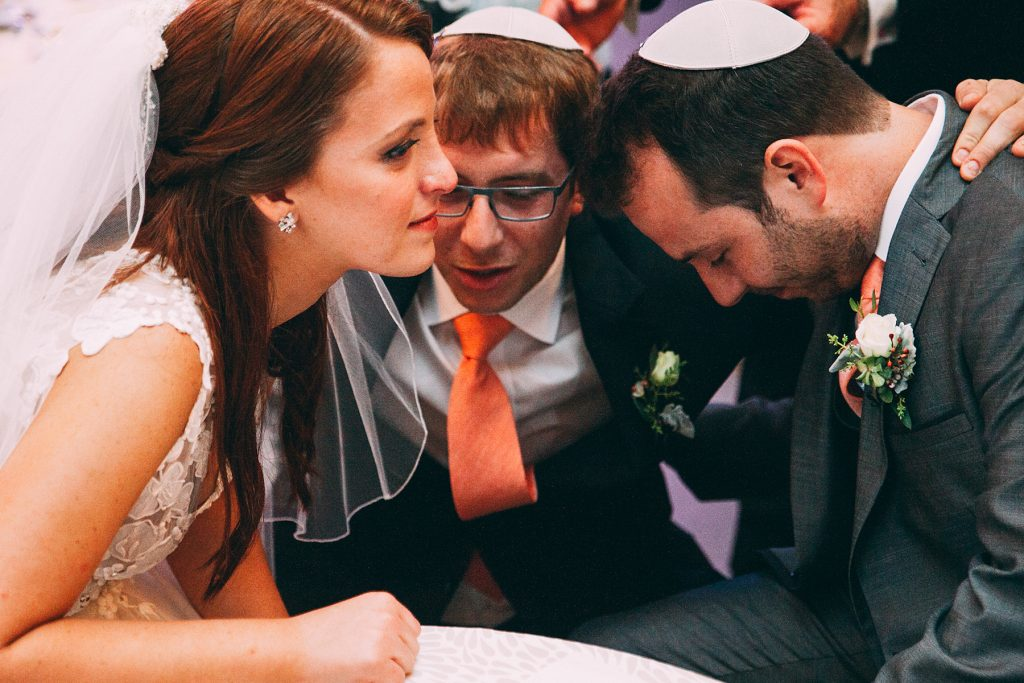 Detailed Filled Rainy Day Jewish Wedding | Julius & James 20