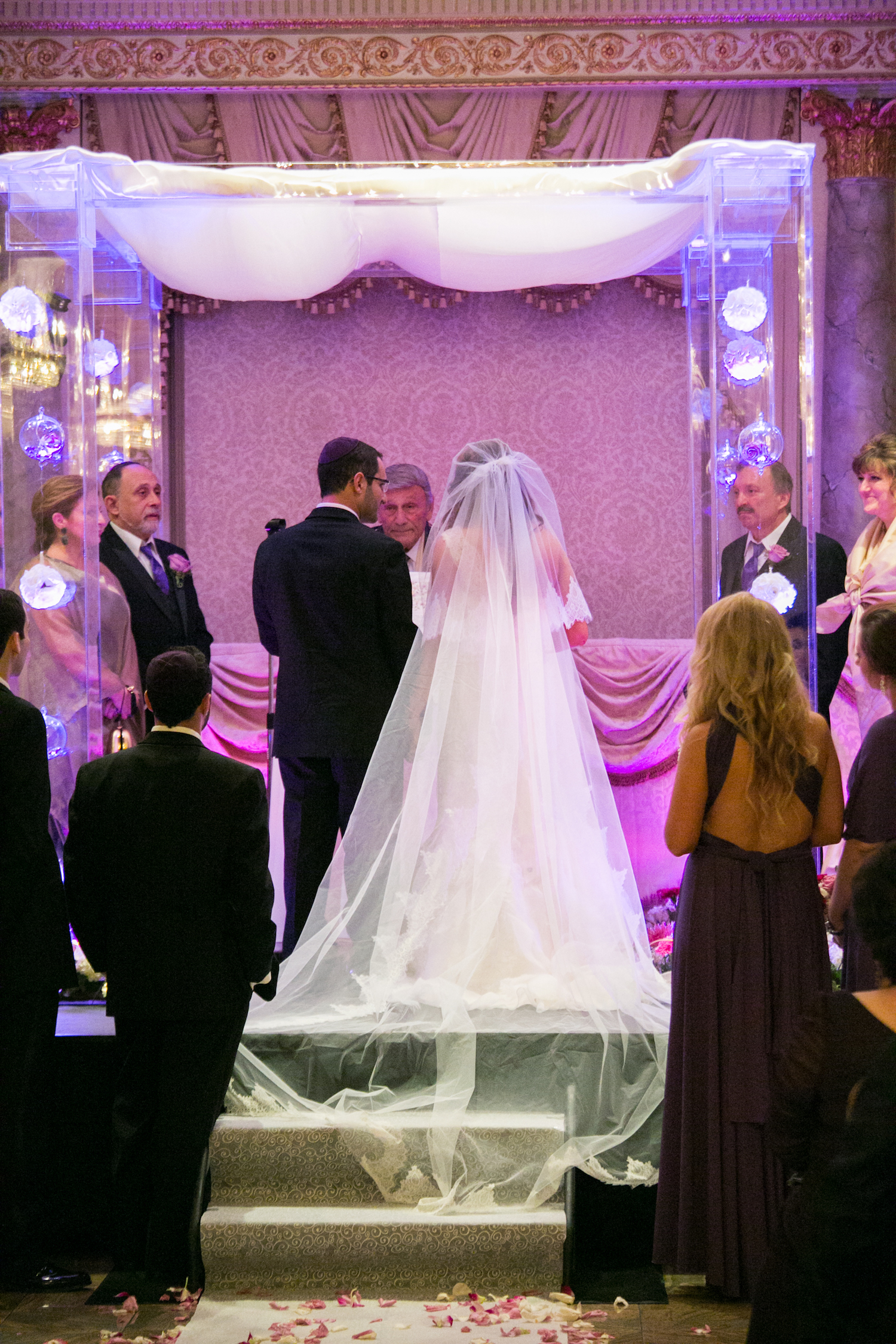 Elegant Summer Wedding In Maryland The Big Fat Jewish