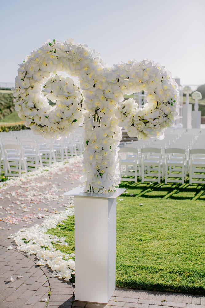 Lux White Wedding Ritz Carlton Half Moon Bay | Clane Gessel Photos 20