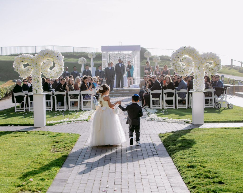 Lux White Wedding Ritz Carlton Half Moon Bay | Clane Gessel Photos 25