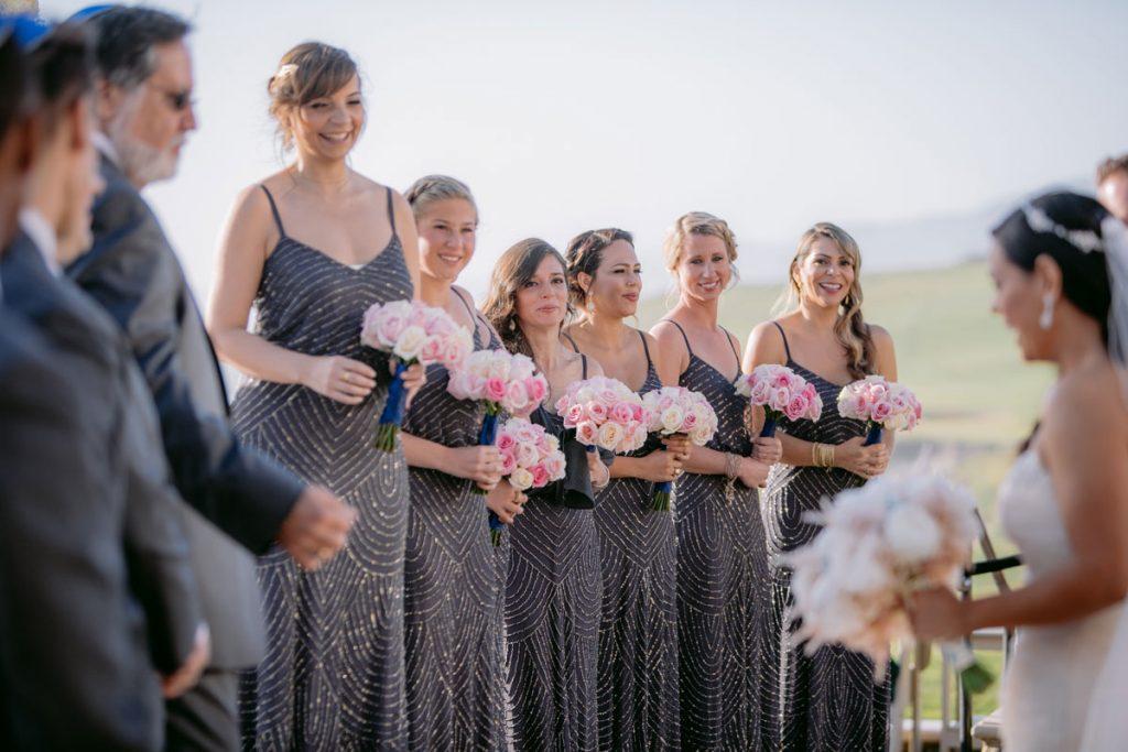Lux White Wedding Ritz Carlton Half Moon Bay | Clane Gessel Photos 27