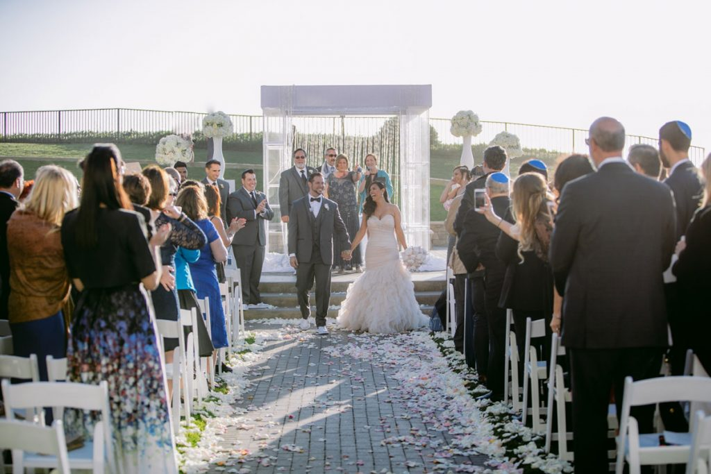 Lux White Wedding Ritz Carlton Half Moon Bay | Clane Gessel Photos 28