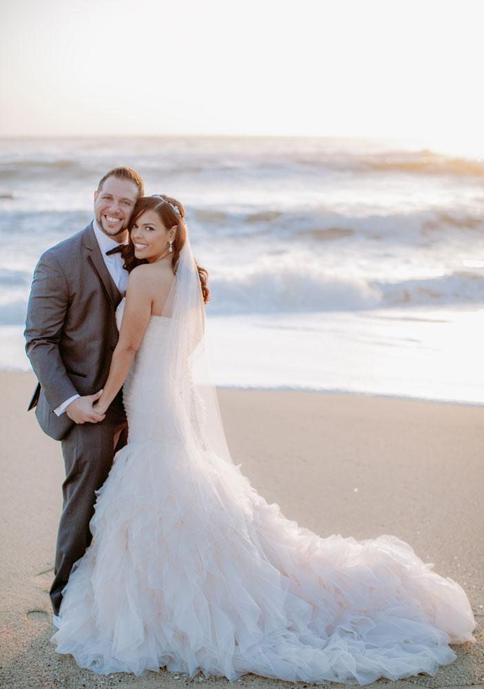 Lux White Wedding Ritz Carlton Half Moon Bay | Clane Gessel Photos 31