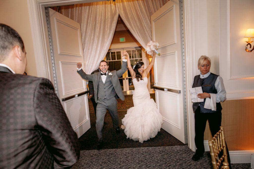 Lux White Wedding Ritz Carlton Half Moon Bay | Clane Gessel Photos 45