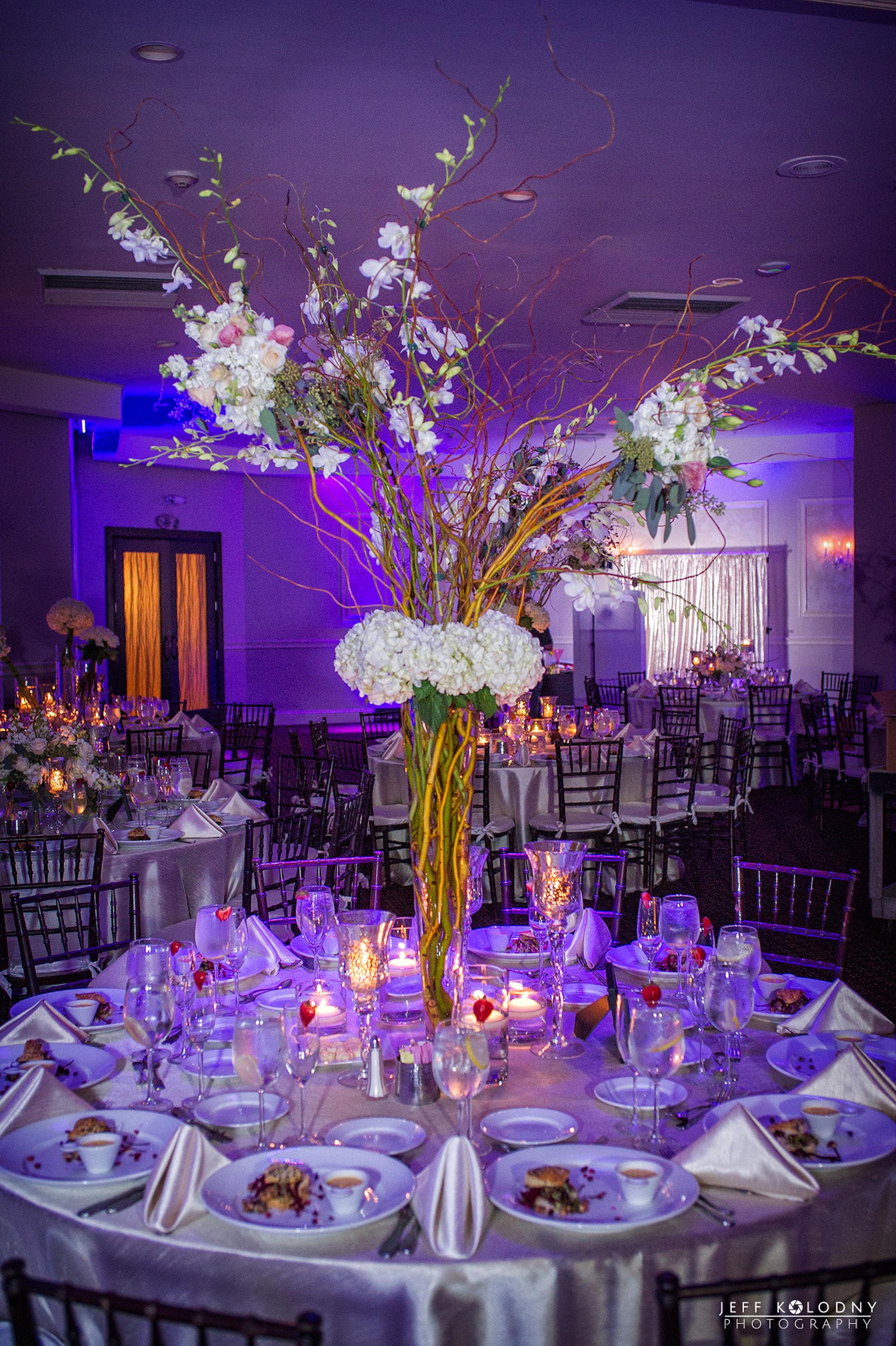 Silver Amp Purple Elegant Rustic Wedding Florida The Big