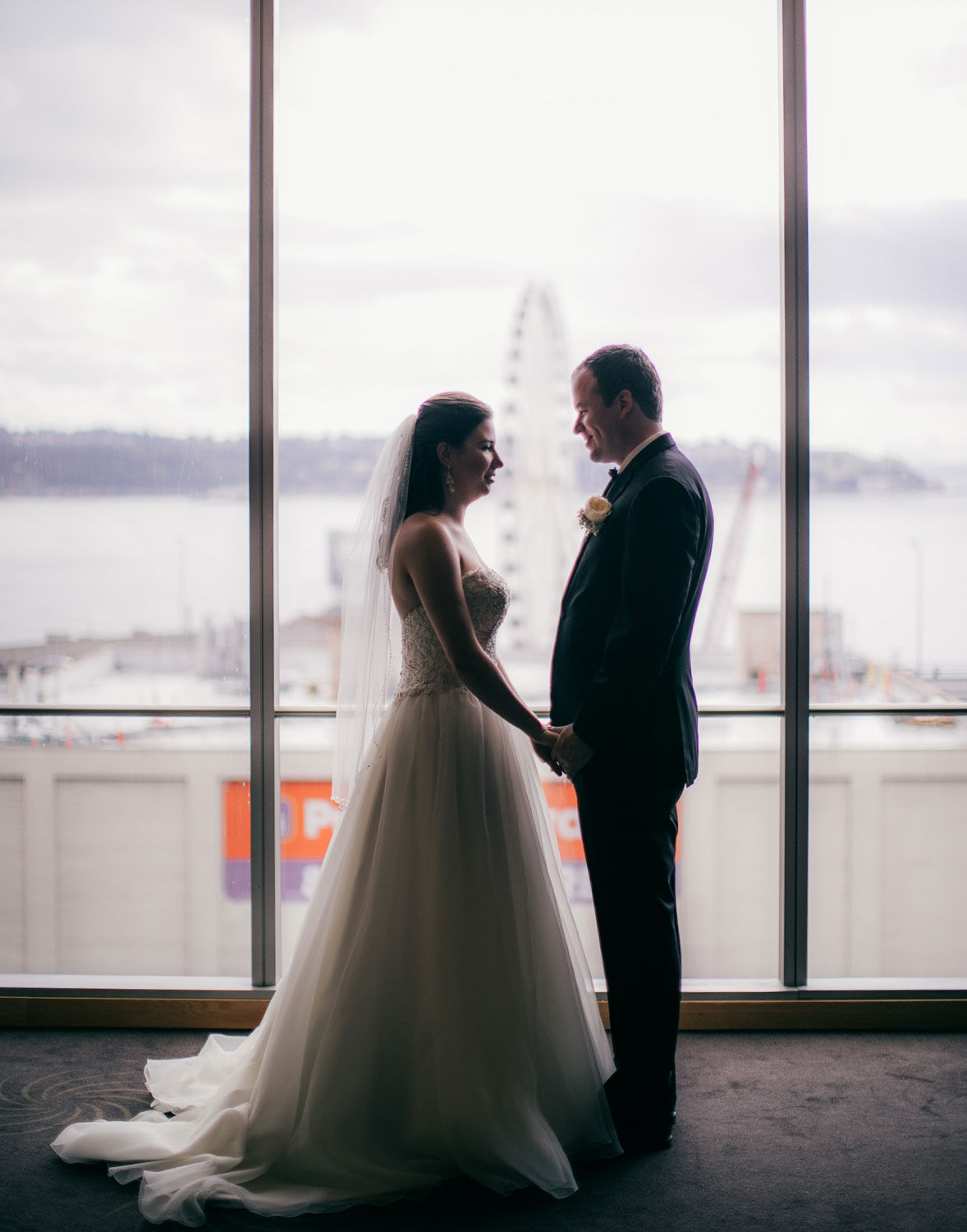 Chic Four Seasons Wedding {Seattle} | The Big Fat Jewish Wedding