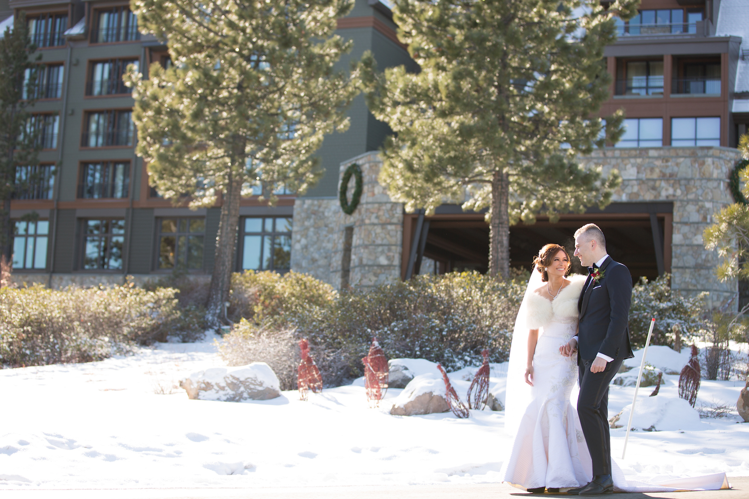 Winter Wedding Ritz Carlton Lake Tahoe | Sasha Photography05