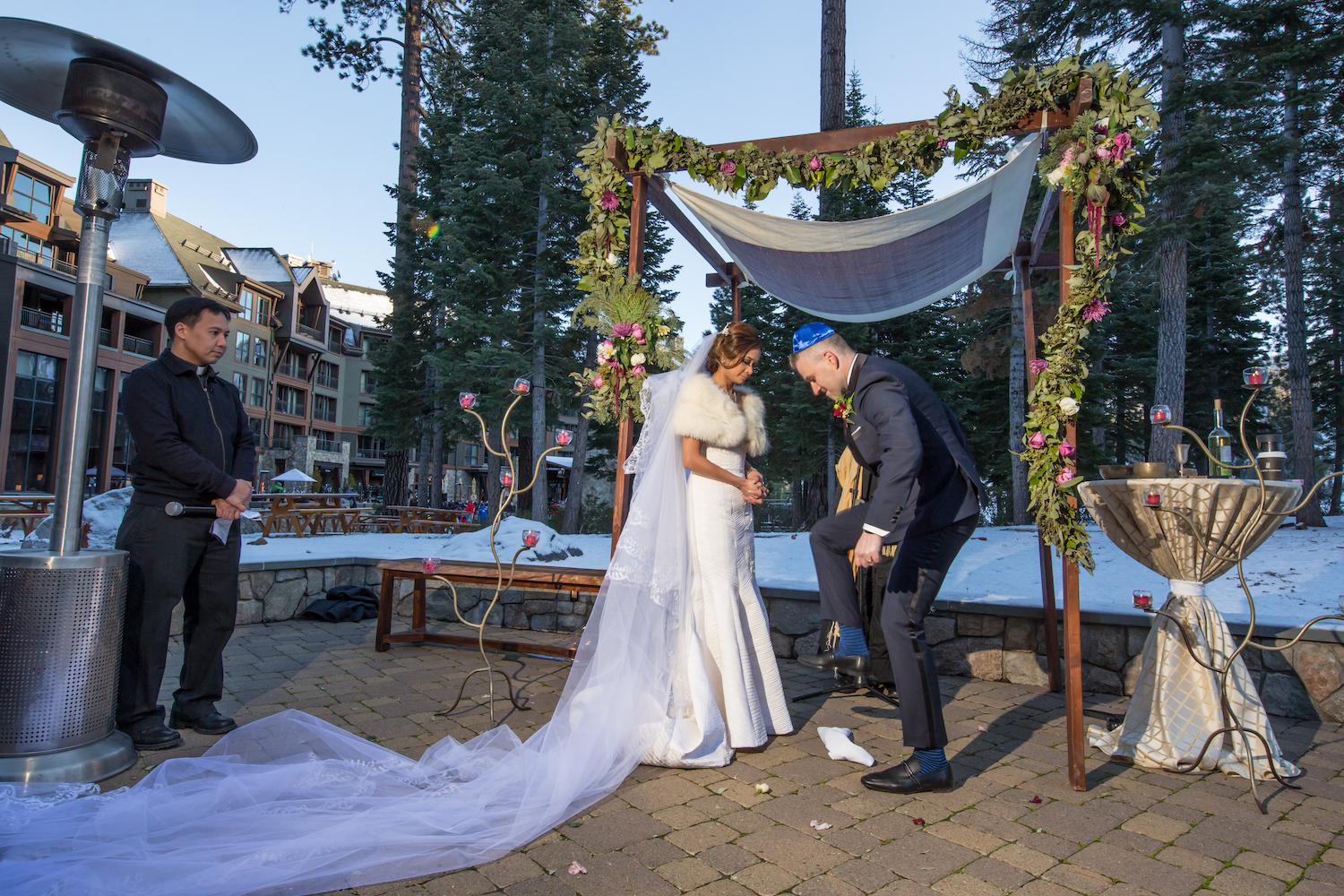 Winter Wedding Ritz Carlton Lake Tahoe | Sasha Photography12