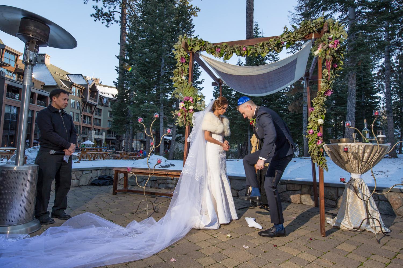 Winter Wedding Ritz Carlton Lake Tahoe | Sasha Photography12